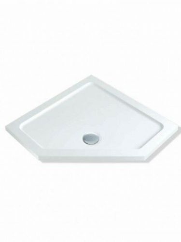 MX DUCASTONE 900X900 PENTANGLE SHOWER TRAY INCLUDING WASTE